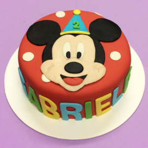torta topolino festa pois decorata disney
