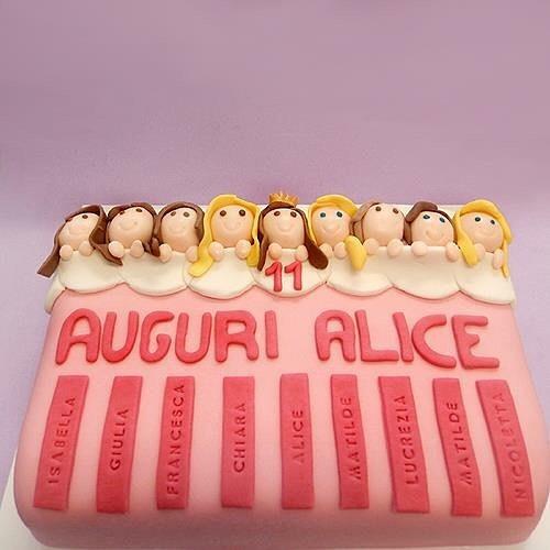 torta-personalizzata-pigiama-party