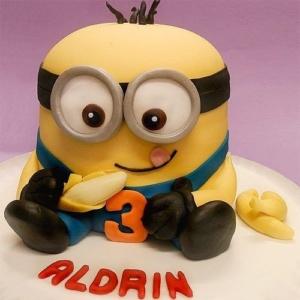 torta-minions-banane