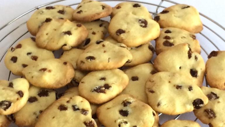 Biscotti all'uvetta dalla forma imperfetta: le mie montagne russe!