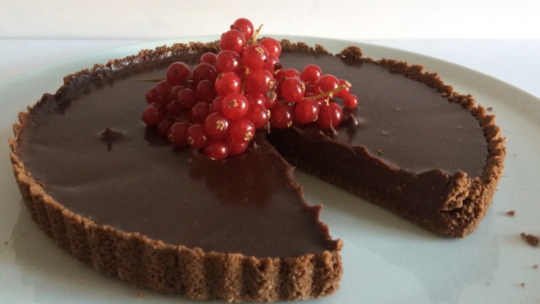Chocolate Heart Cake: torta dal cuore fondente. Meravigliosa!