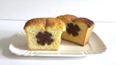 Plumcake a sorpresa: dentro un quadrifoglio al cacao portafortuna!